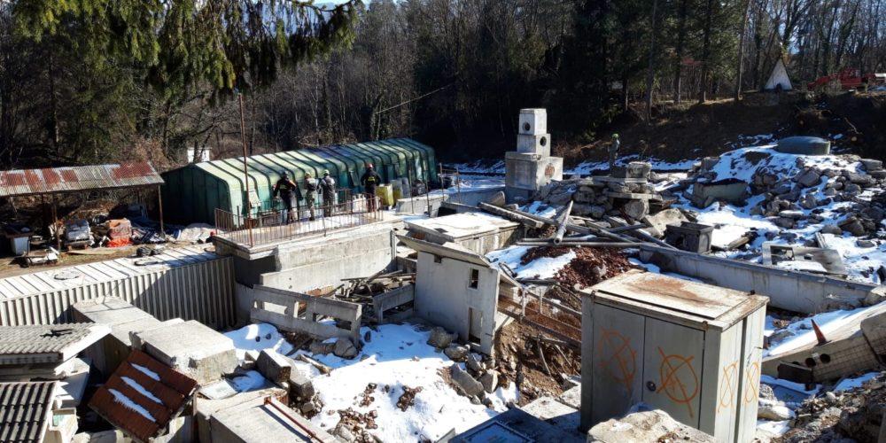 17 febbraio – Addestramento ricerca dispersi su macerie a Belluno