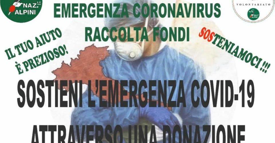 La Protezione Civile ANA in aiuto per l'emergenza COVID-19