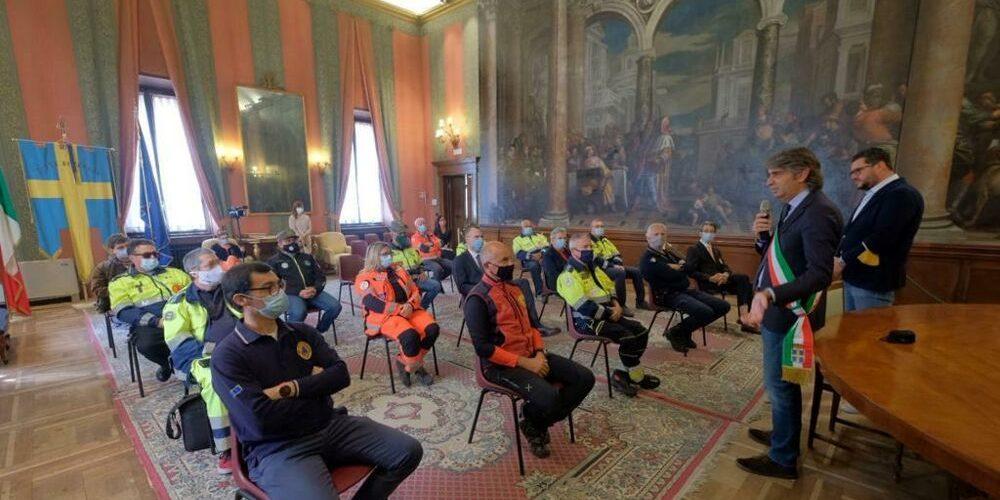 """Verona -Benemerenze a privati e volontari per il loro aiuto durante il lockdown"""""""